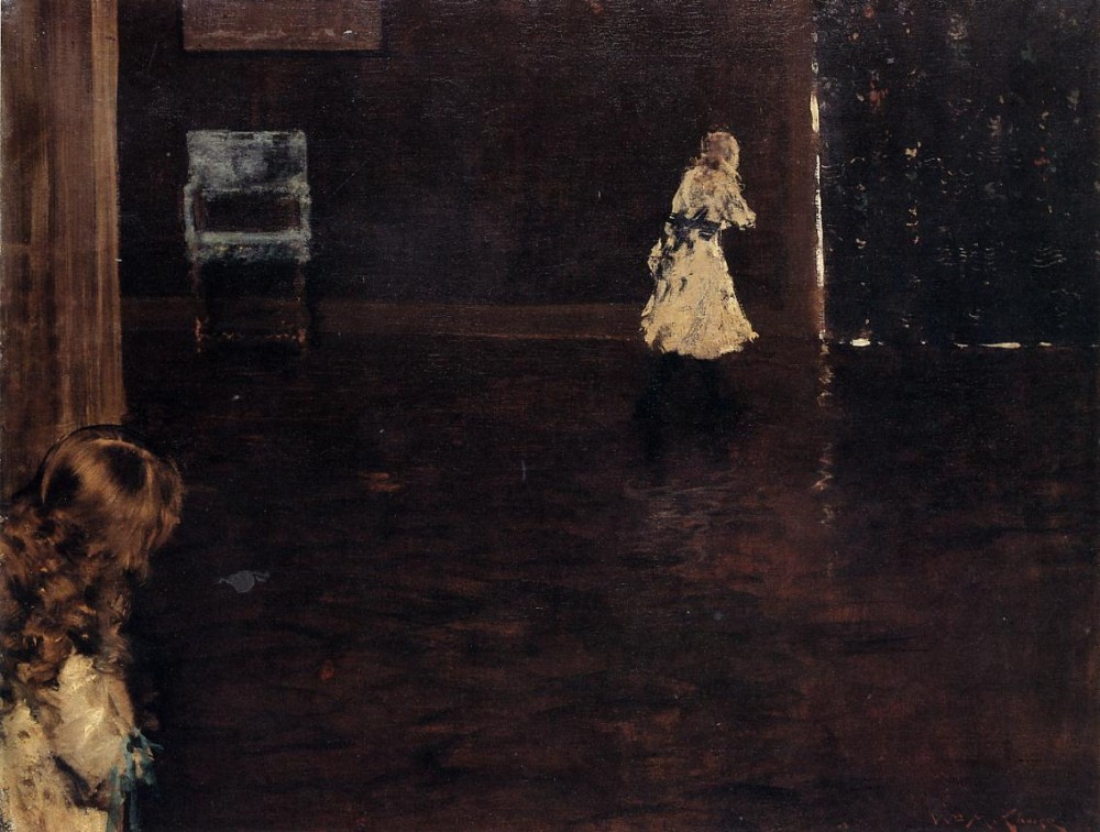 Hide and Seek by William Merritt Chase
