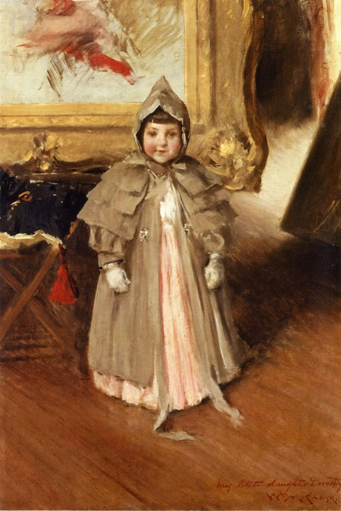My Little Daughter Dorothy by William Merritt Chase