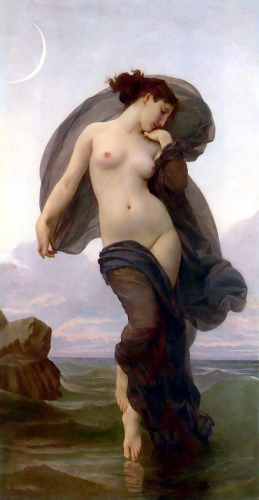 Evening Mood by William-Adolphe Bouguereau