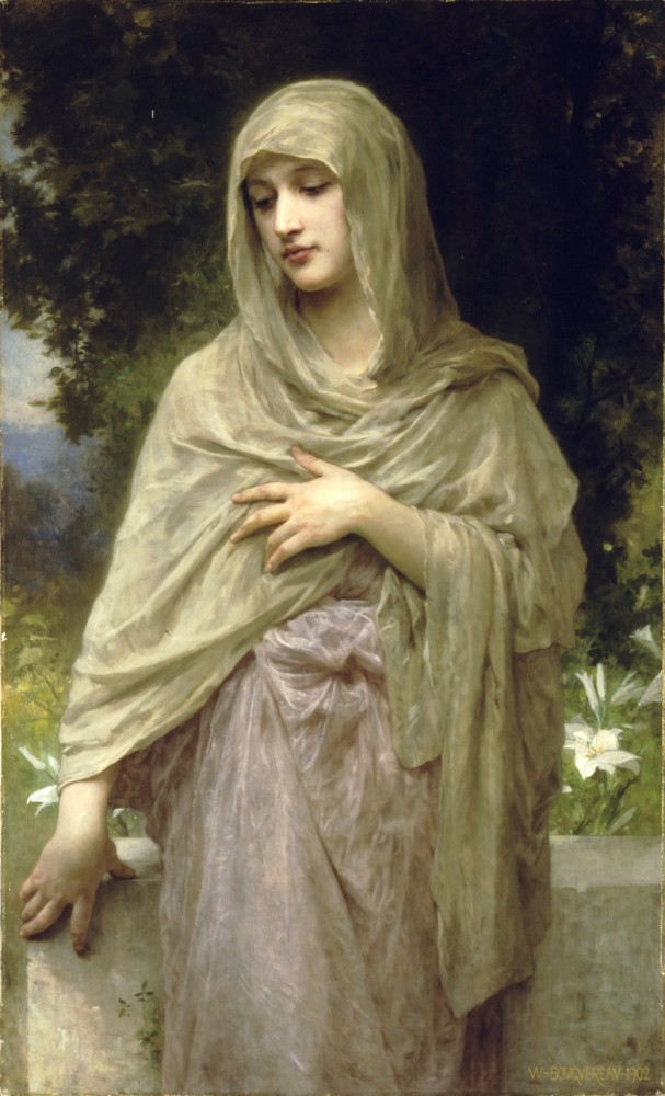 Modestie by William-Adolphe Bouguereau