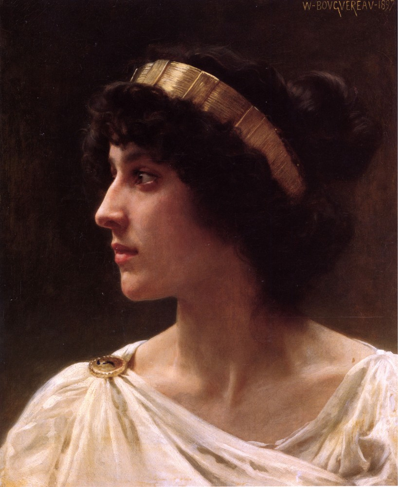 Irene by William-Adolphe Bouguereau