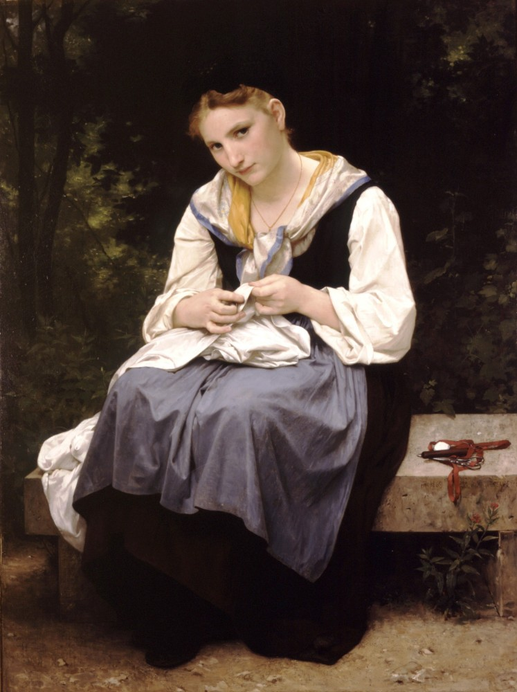 Jeune Ouvriere by William-Adolphe Bouguereau