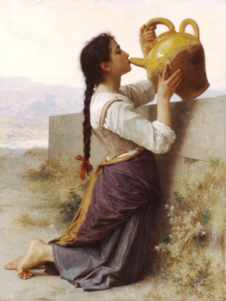 La Soif by William-Adolphe Bouguereau