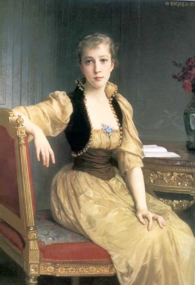 Lady Maxwell by William-Adolphe Bouguereau