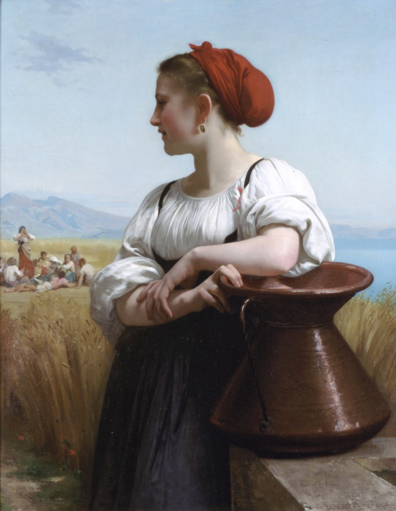 Moissoneuse by William-Adolphe Bouguereau