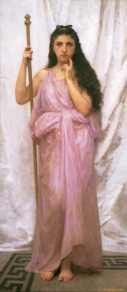 Priestess by William-Adolphe Bouguereau