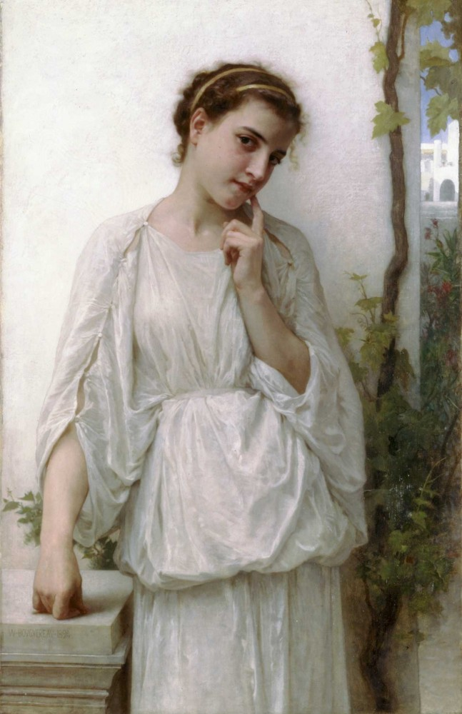 Reverie by William-Adolphe Bouguereau