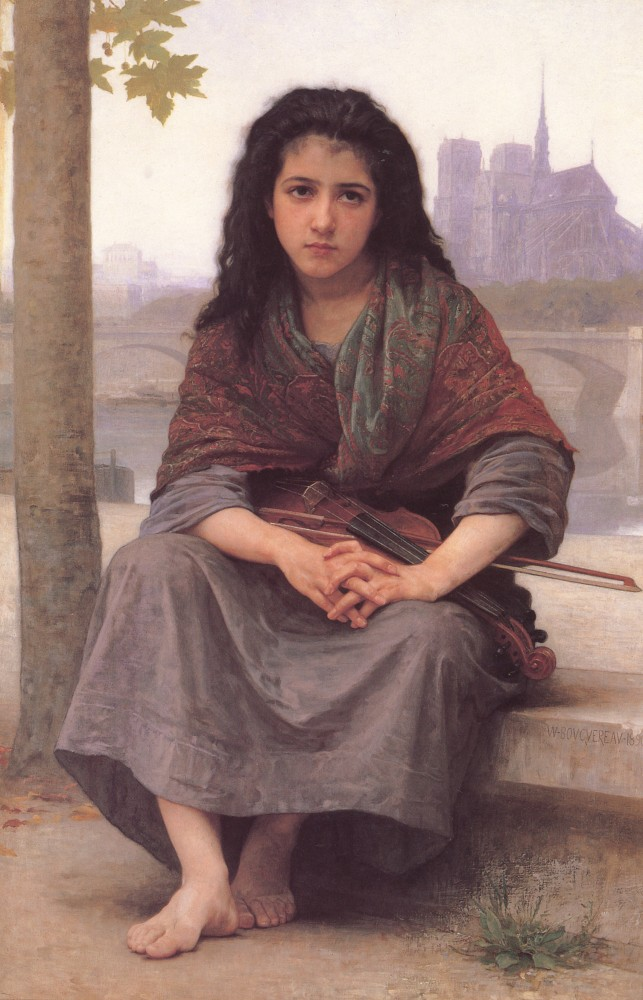 The Bohemian by William-Adolphe Bouguereau