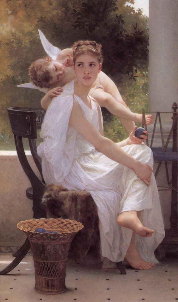 Work Interrupted by William-Adolphe Bouguereau