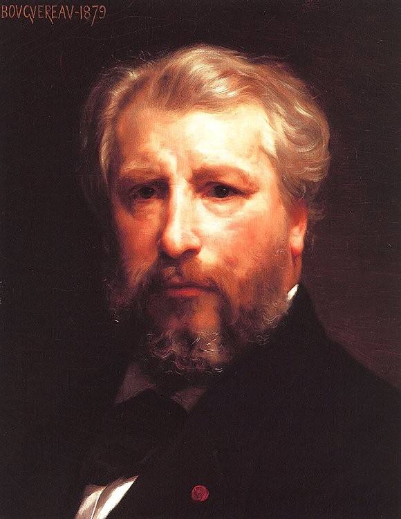 Self Portrait by William-Adolphe Bouguereau