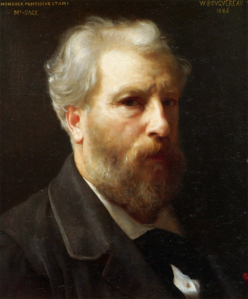 Autoportrait Presente a M. Sage by William-Adolphe Bouguereau