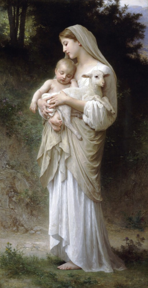 Linnocence by William-Adolphe Bouguereau