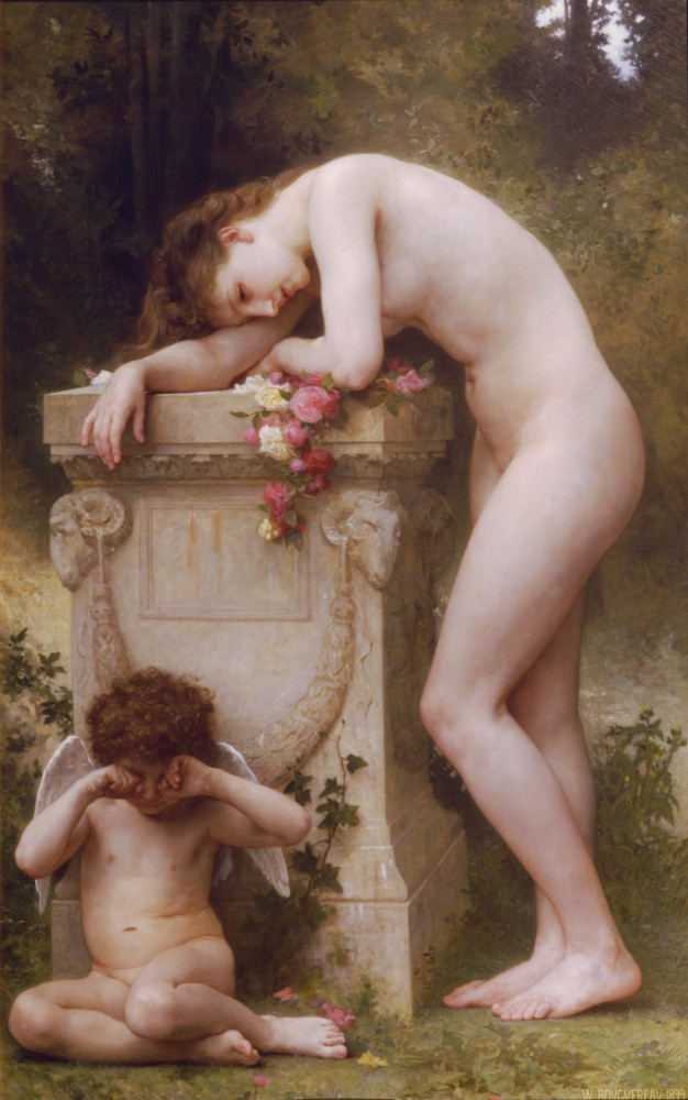 Douleur Damour by William-Adolphe Bouguereau