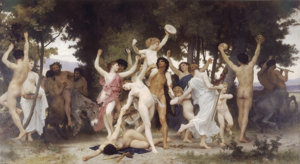 La Jeunesse de Bacchus by William-Adolphe Bouguereau