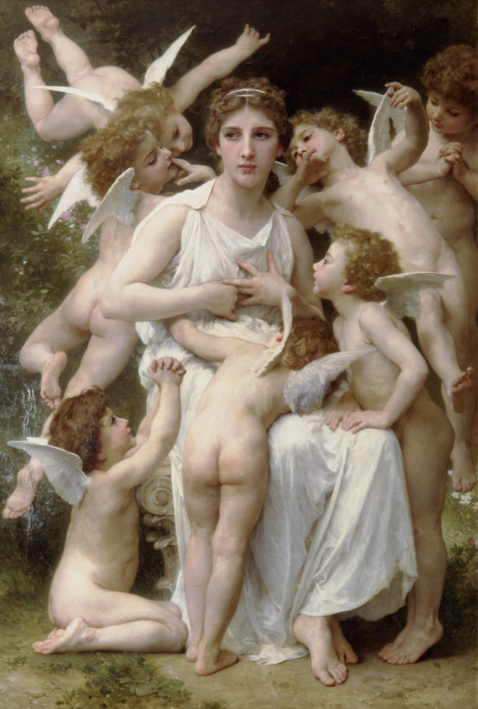 Lassaut by William-Adolphe Bouguereau