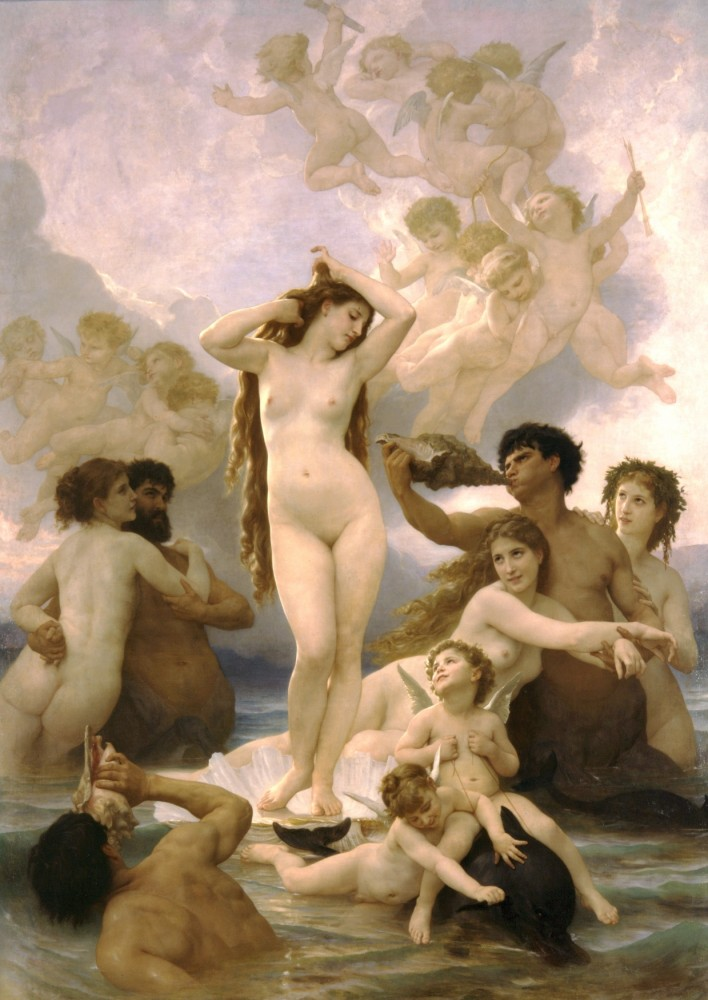 Naissance de Venus by William-Adolphe Bouguereau