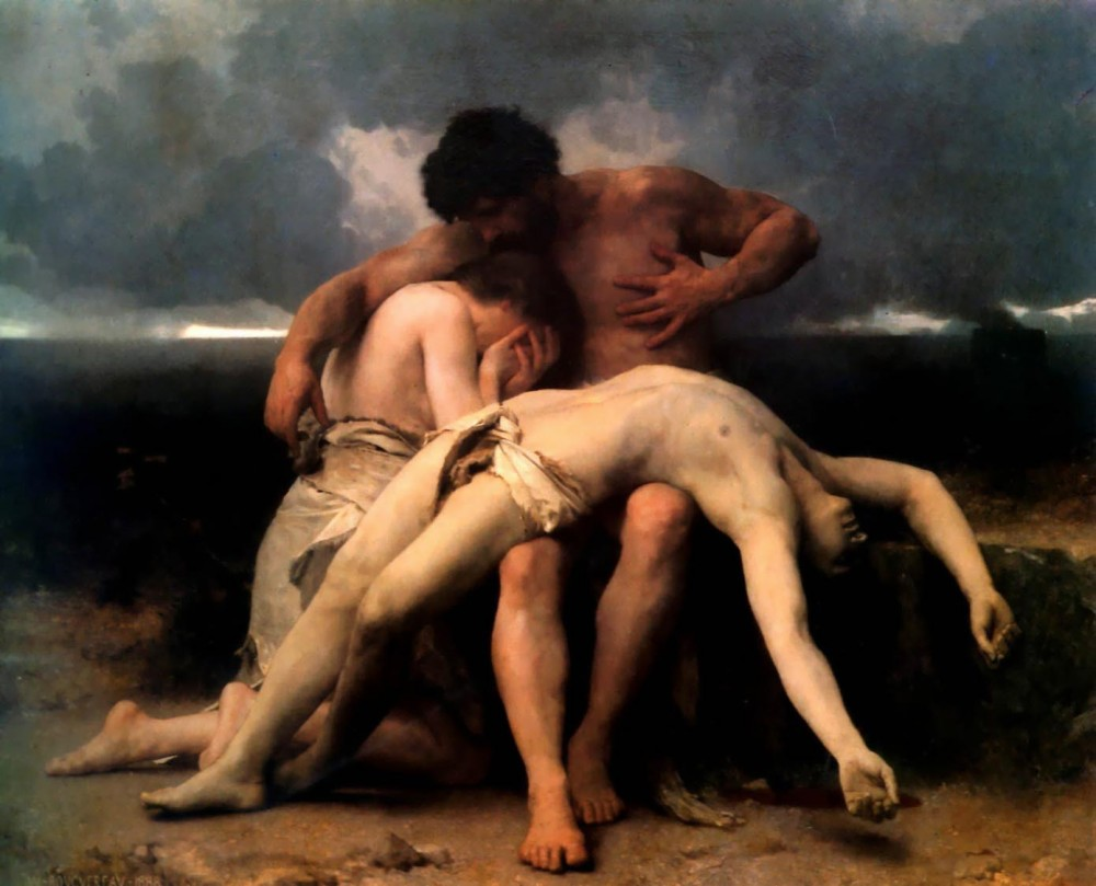The First Mourning by William-Adolphe Bouguereau