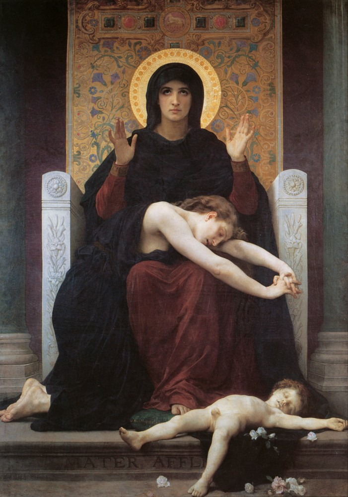 Vierge consolatrice by William-Adolphe Bouguereau