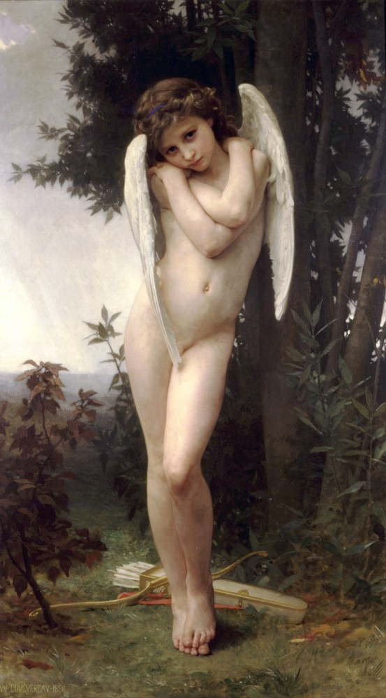 LAmour Mouille by William-Adolphe Bouguereau