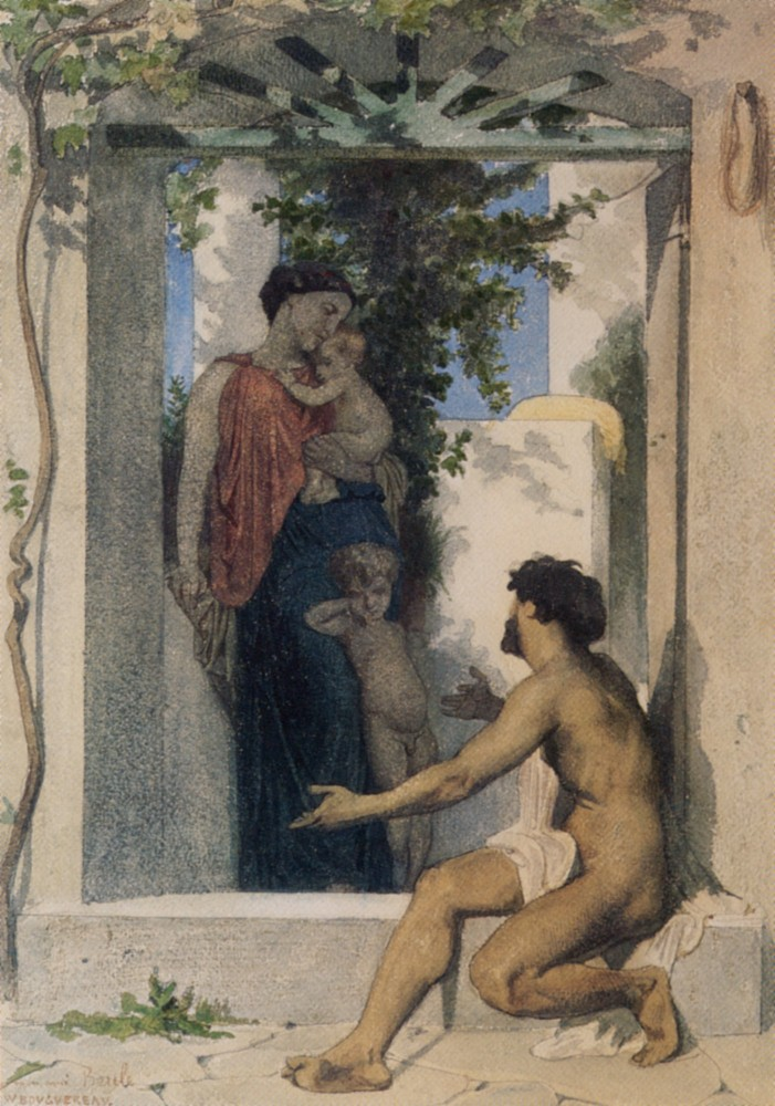 La Charite Romaine by William-Adolphe Bouguereau