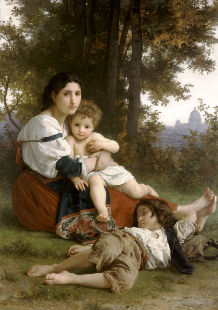 Le Repos by William-Adolphe Bouguereau