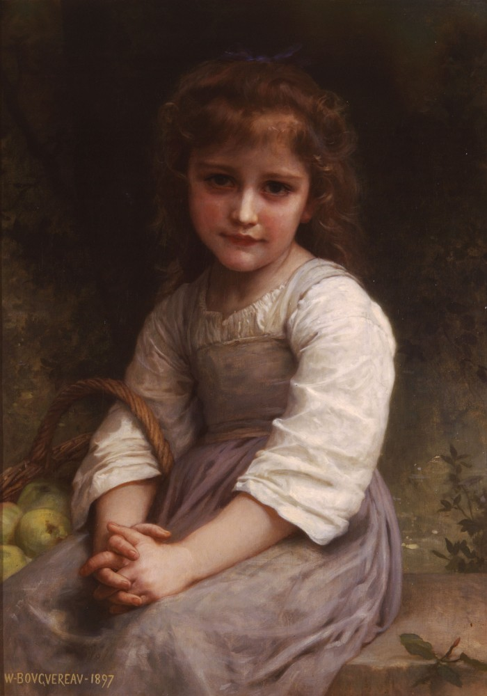 Les Pommes by William-Adolphe Bouguereau