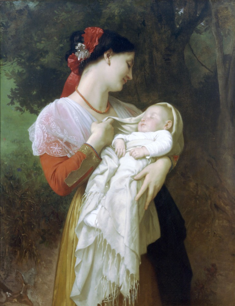 Admiration Maternelle by William-Adolphe Bouguereau