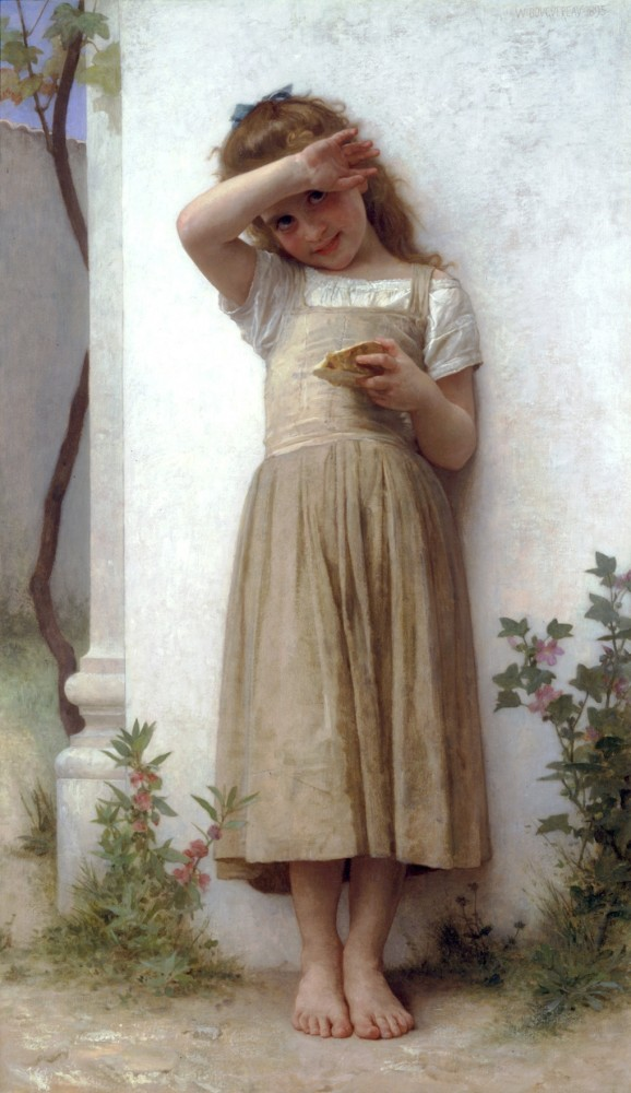 En Penitence by William-Adolphe Bouguereau