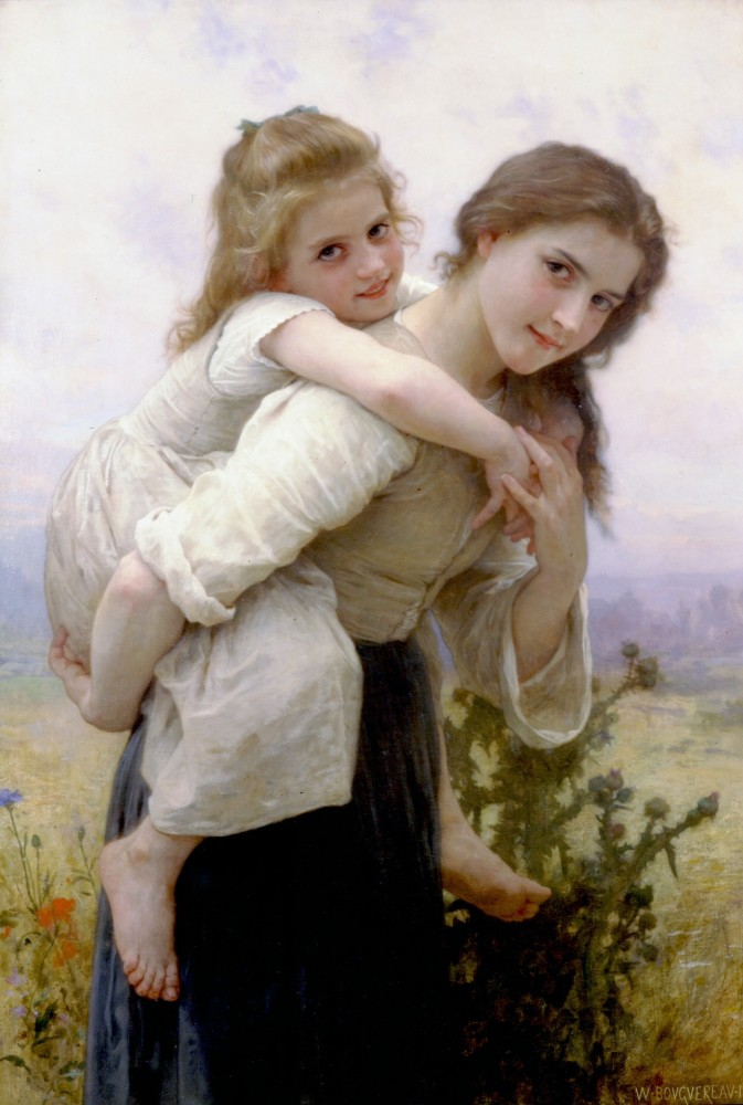Fardeau Agreable by William-Adolphe Bouguereau