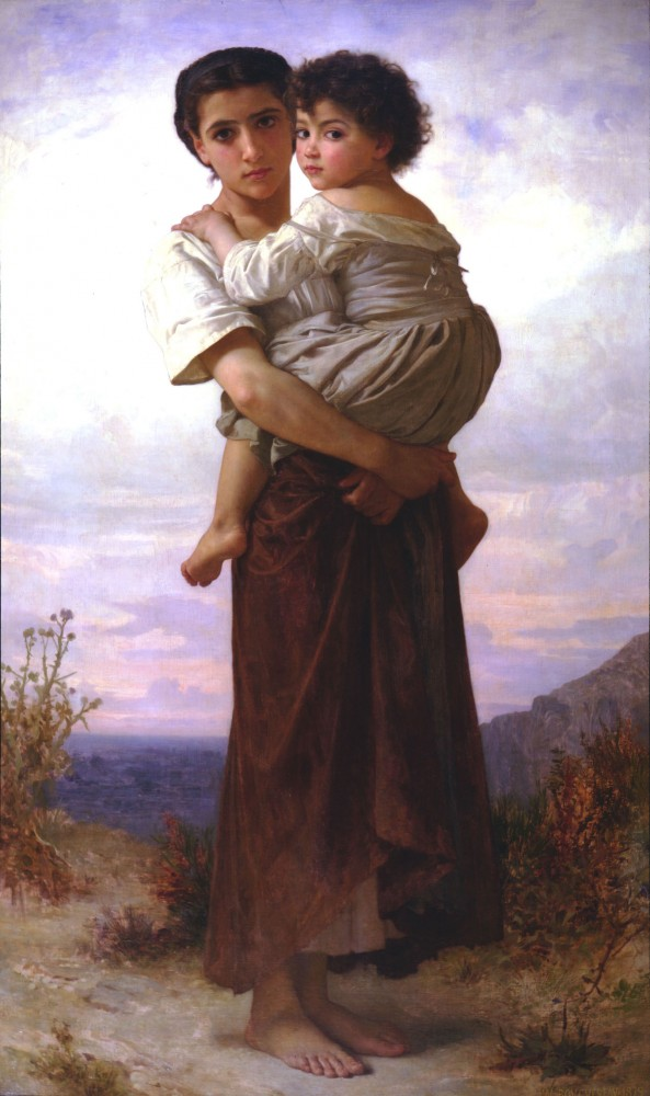 Jeunes Bohemiennes by William-Adolphe Bouguereau