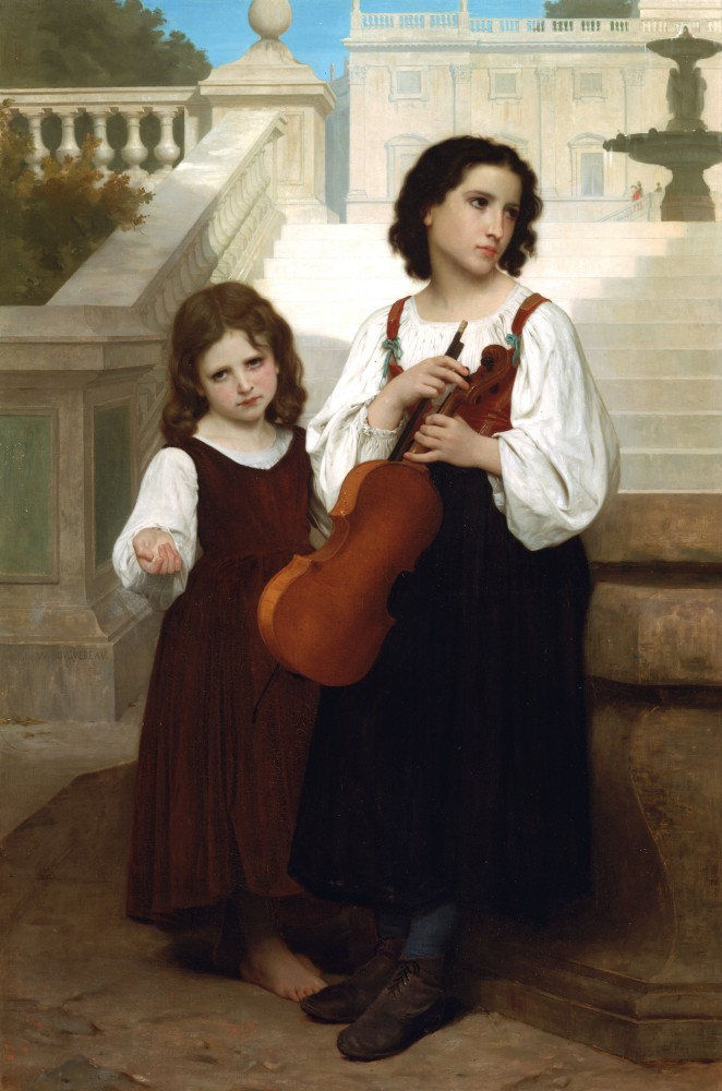 Loin du Pays by William-Adolphe Bouguereau