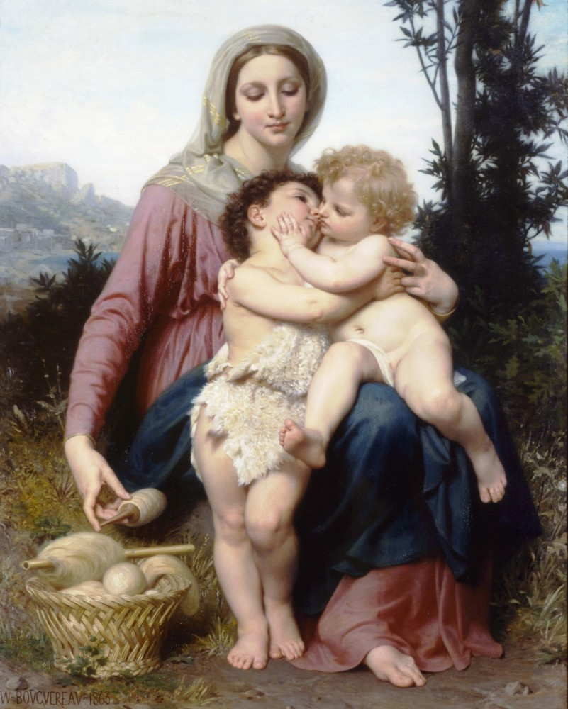 Sainte Famille by William-Adolphe Bouguereau