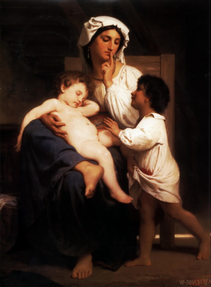 Slumber by William-Adolphe Bouguereau