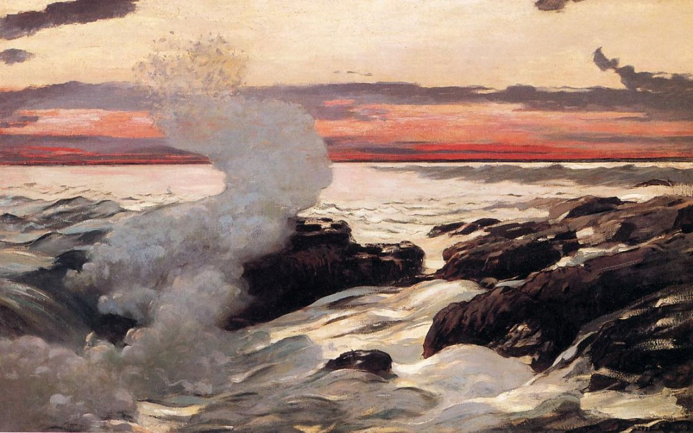 West Point Prouts Neck by Winslow Homer