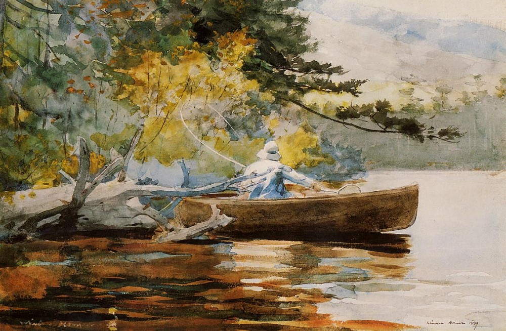 A Good One by Winslow Homer