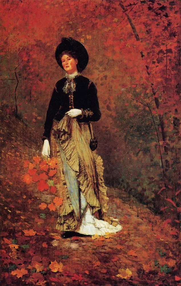 Autumn by Winslow Homer