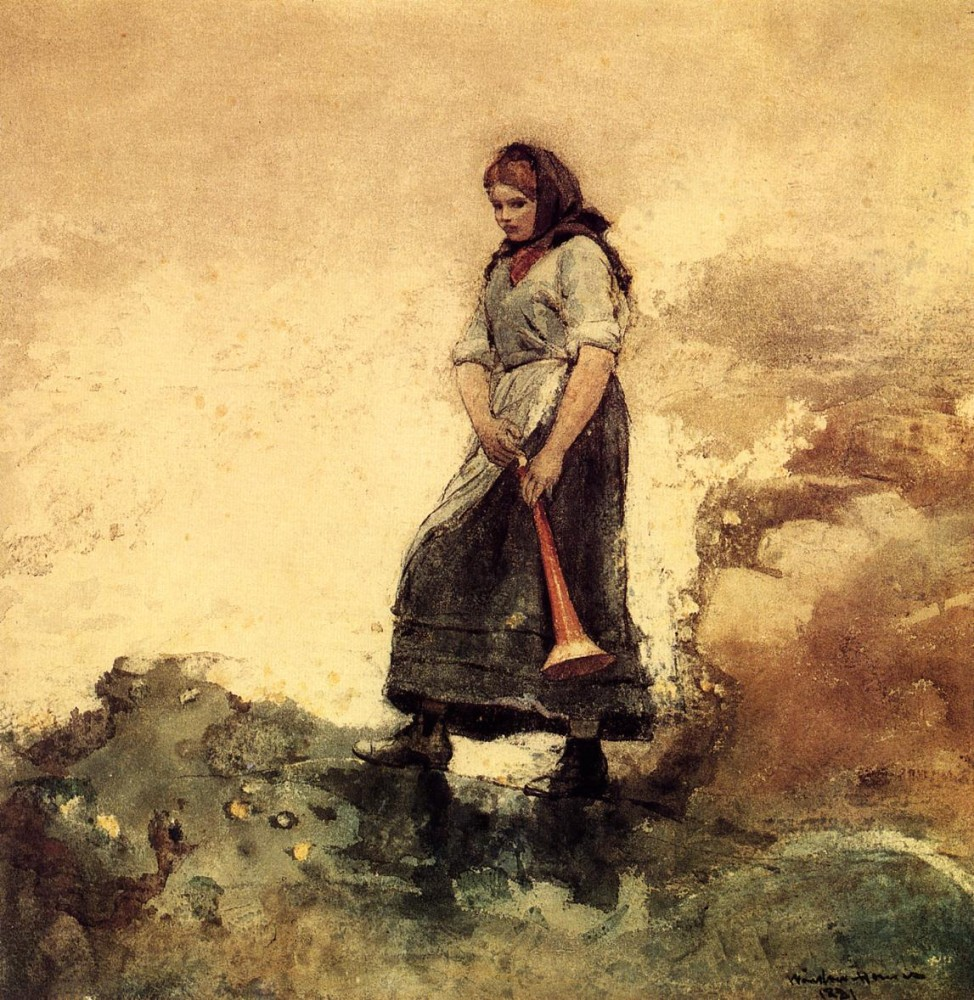 Daughter of the Coast Guard by Winslow Homer