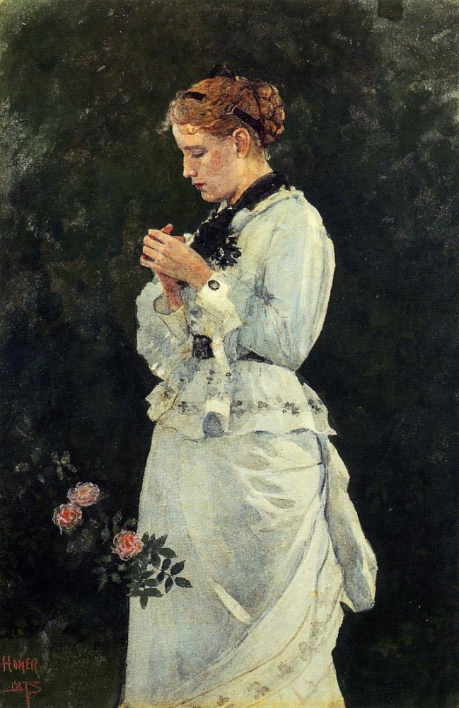 Portrait of a Lady by Winslow Homer