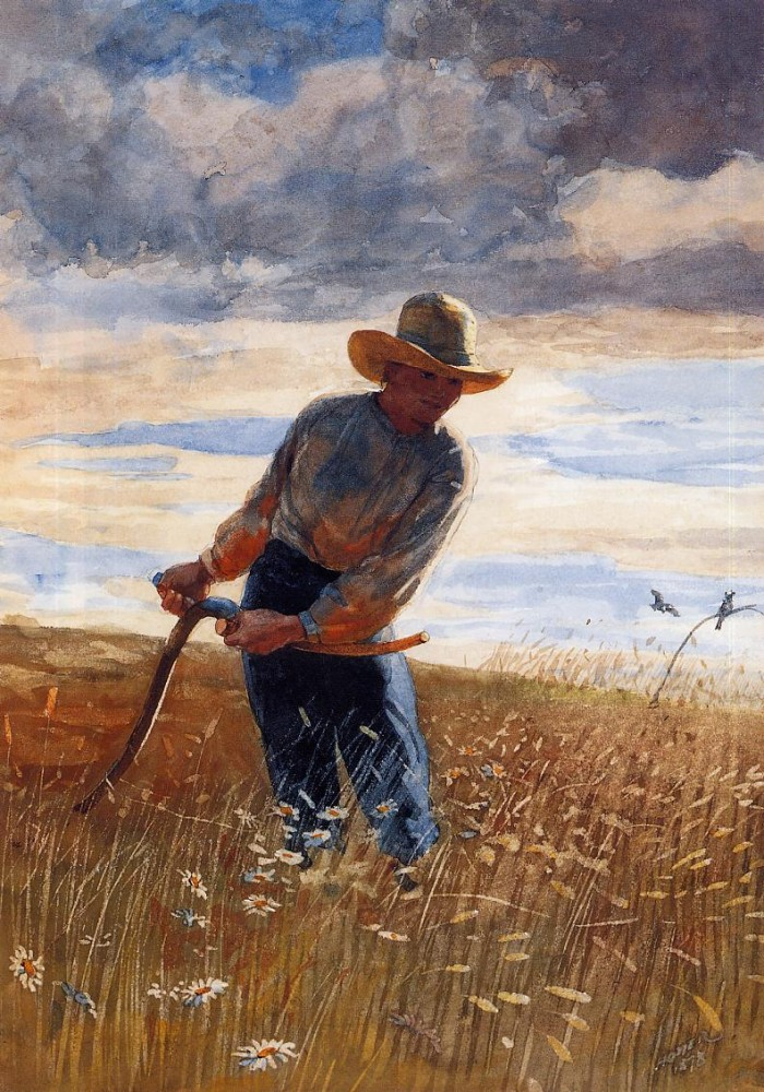 The Reaper by Winslow Homer