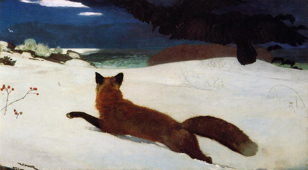 Fox Hunt by Winslow Homer