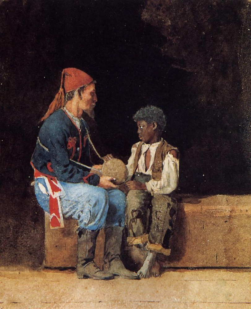 Contraband by Winslow Homer