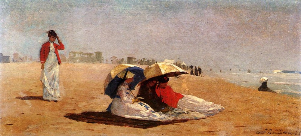 East Hampton Long Island by Winslow Homer