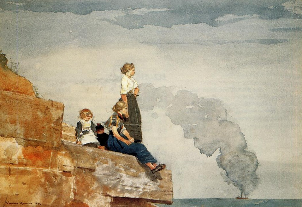 Fishermans Family by Winslow Homer