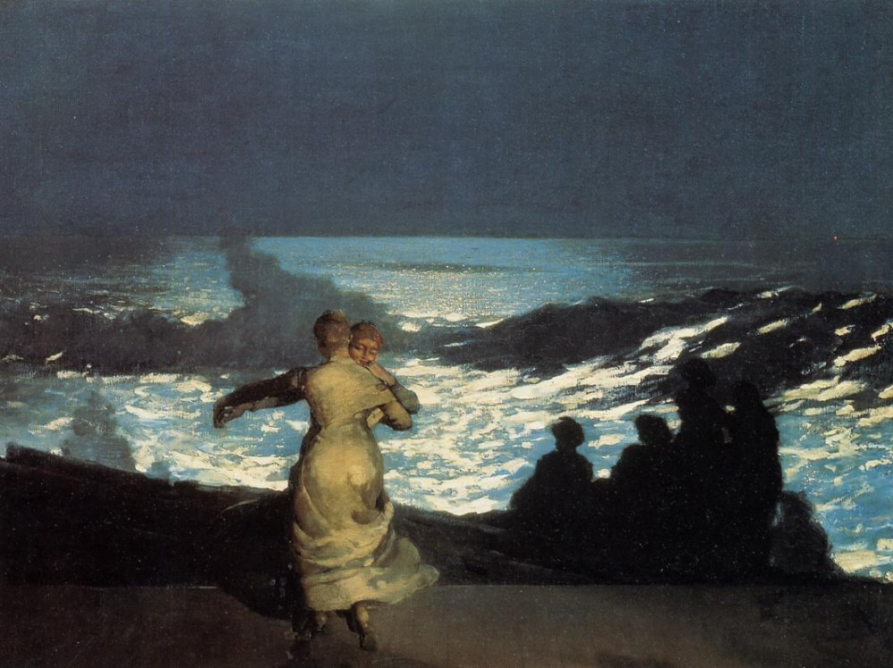 A Summer Night by Winslow Homer