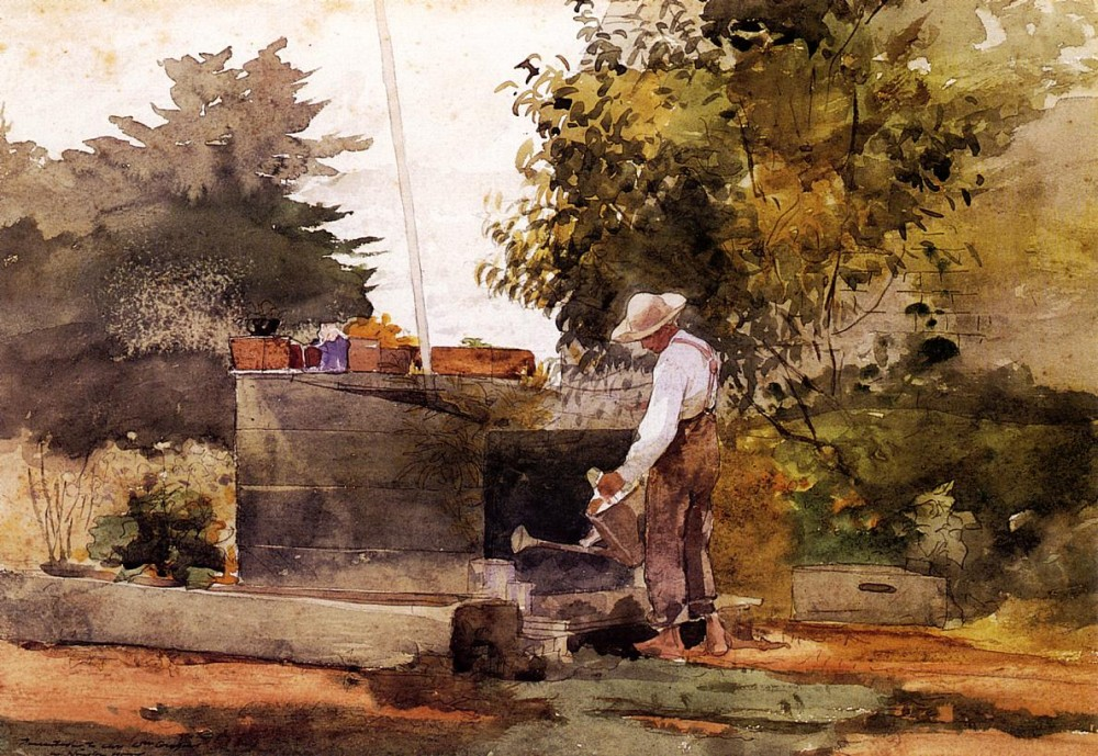 At the Well by Winslow Homer