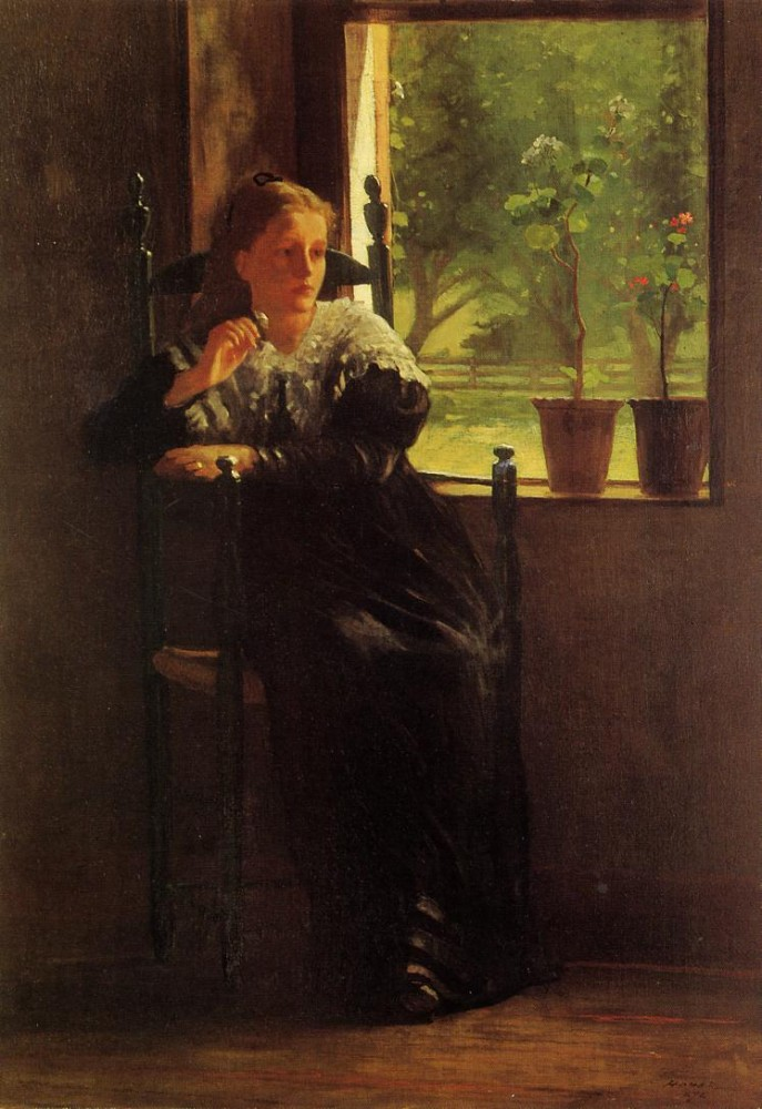 At the Window by Winslow Homer