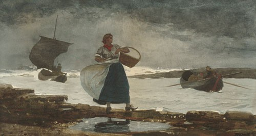 Inside The Bar by Winslow Homer