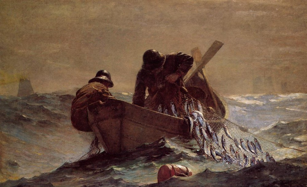 The Herring Net by Winslow Homer
