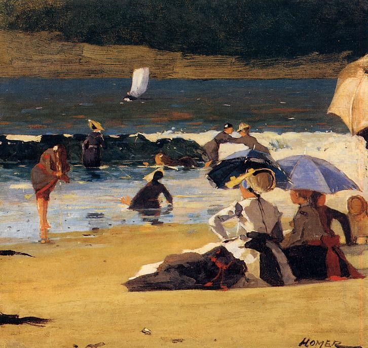 By the Shore by Winslow Homer