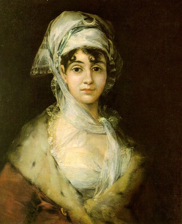 Antonia Zarate by Francisco José de Goya y Lucientes